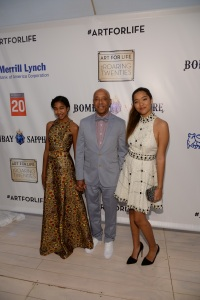attends as Russell Simmons' Rush Philanthropic Arts Foundation Celebrates 20th Anniversary At Annual Art For Life Benefit at Fairview Farms on July 18, 2015 in Water Mill, New York.