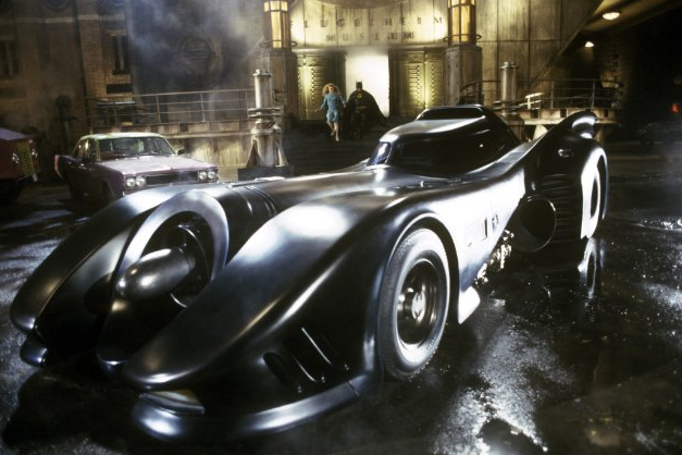 BATMAN (1989) Customized body on a Chevy Impala Chasis