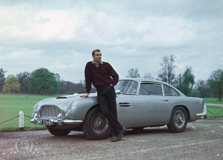 GOLDFINGER (1964) 1964 Aston Martin DB5 Vantage