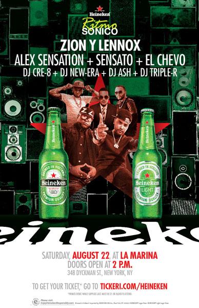 Heineken Ritmo Sonico 8.22.15