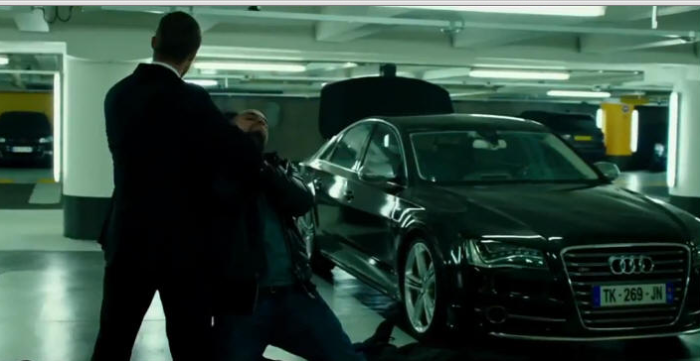 THE TRANSPORTER REFUELED (2015) 2012 Audi S8 D4