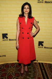 NEW YORK, NY - NOVEMBER 04:  Actress Morena Baccarin attends the Annual Freedom Award Benefit hosted by the International Rescue Committee at the Waldorf Astoria Hotel on November 4, 2015 in New York City.  (Photo by Jemal Countess/Getty Images International Rescue Committee)