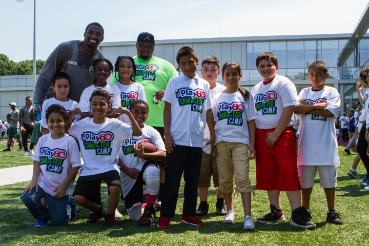 160620 Play 60 Character Camp - With Jets Rookies