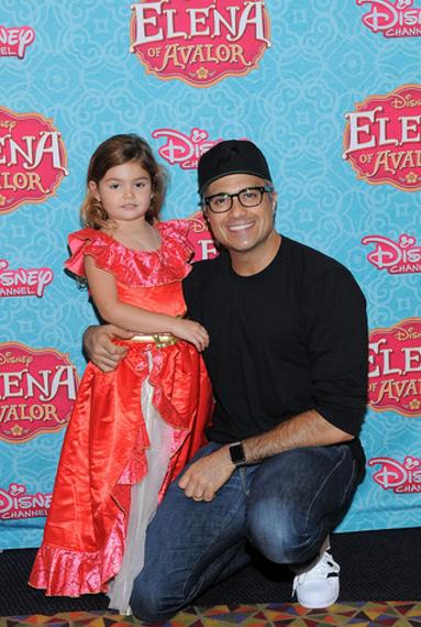 Jaime Camil and Daughter Elena