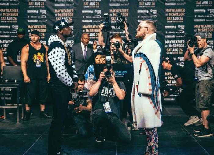 Floyd Mayweather vs. Conor McGregor NYC World Tour
